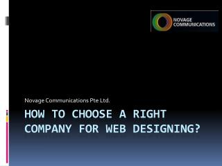 How to Select a Right Web Designing Company to Grow Business