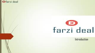 Shop Online in India at FarziDeal - Best Shopping Site