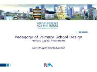 Pedagogy of Primary School Design Primary Capital Programme  rm