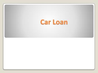 The Right Way to Approach a Subprime Auto Loan
