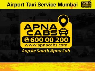Airport Taxi Service Mumbai