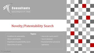 Patentability Search- Importance and How to Do Patentability Search