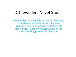 Navel Studs At Affordable Prices