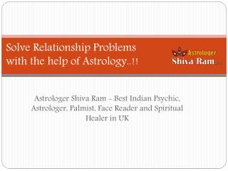 Solve Relationship Problems with the help of Astrology