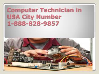 Computer 1-888-743-8821 Technician in Chicago