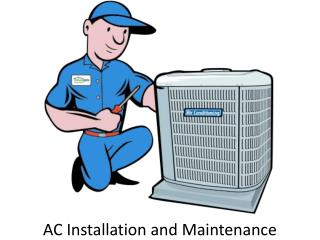 AC Installation and Maintenance in UAE