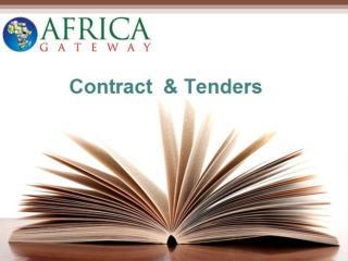 Tenders online | Africa Gov Tenders - Africagateway
