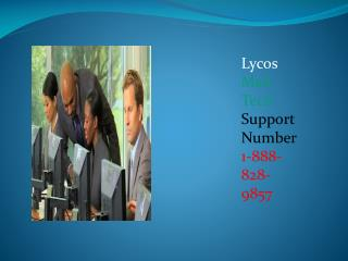 Lycos Mail Customer Service Contact Number 1-888-828-9857