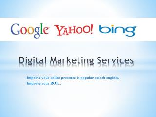 Outsource Digital Marketing Services- SEO Outsourcing