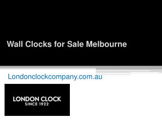 Shop for Wall Clocks in Melbourne - Londonclockcompany.com.au