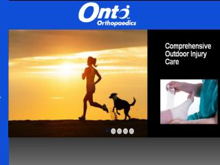 Spinal Orthopedics Surgeon at Onto