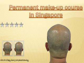 Permanent make-up course in Singapore
