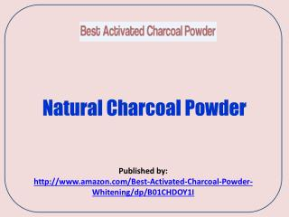 Natural Charcoal Powder