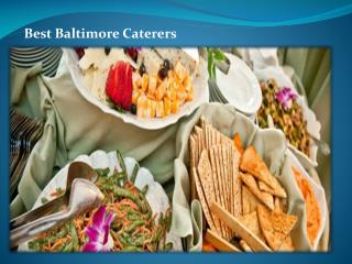 Best Baltimore Caterers