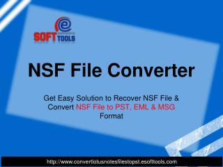 NSF File Converter