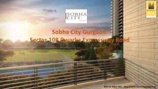 Sobha City in Gurgaon | 2,3 BHK Apartments in gurgaon