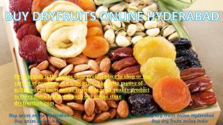 Buy dry fruit list online Hyderabad