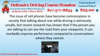 Driving & Talking