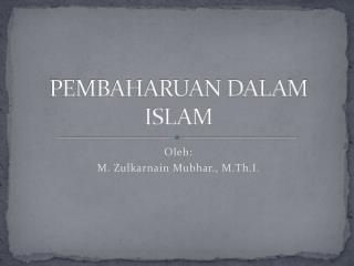 Pemikiran Islam