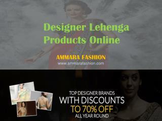 Designer Lehengas Products Online - Bridal Lehengas,Sarees - Ammara Fashion
