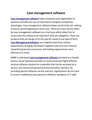 case management software | nabd system