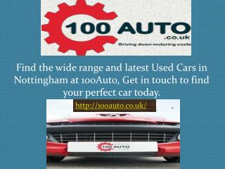 Second Hand Cars East Midlands