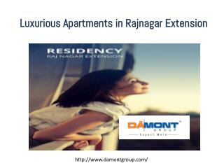 Luxurious apartments  in rajnagar extension