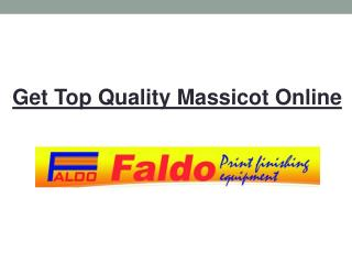Top Quality Massicot Online