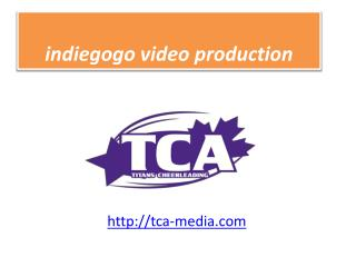 Crowdfunding video Production videography service Minneapolis