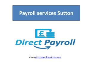 Payroll Outsourcing services UK