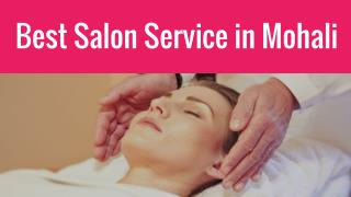 Salon Service in Mohali