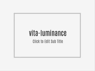 vita-luminance  you can try at your local bookstore