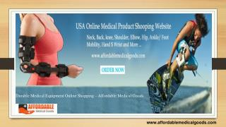 Durable Medical Equipment Online Shopping � Affordable Medical Goods