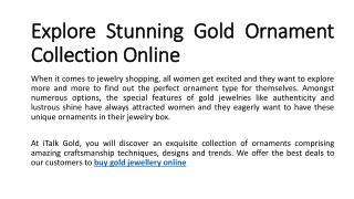 buy gold jewellery online, buy gold jewelry online