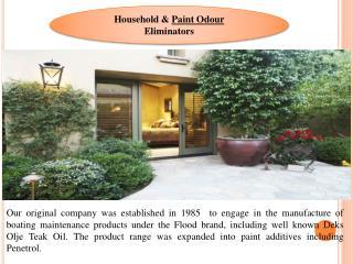 Paint Odour Eliminators