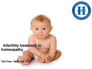 Infertility treatment in homeopathy