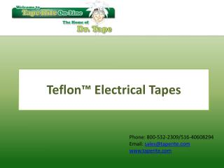 Teflon™ Electrical Tape