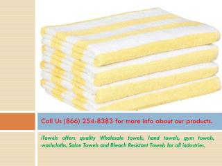 Cabana Beach Towels Bulk