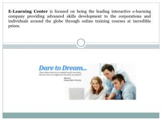 Online Courses by e-LearningCenter.com