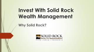 Why solid rock??