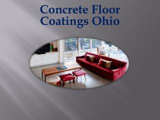 Concrete Floor Coatings Ohio