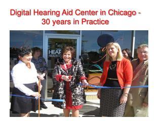 Diagnostic Hearing Aid Center Chicago