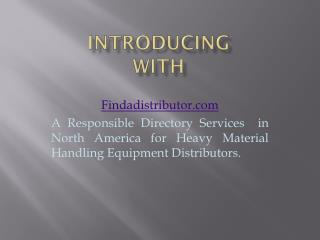 Directory for Material Handling Equipment Manufacturers