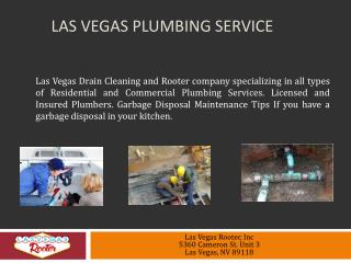 Las Vegas Plumbing Service
