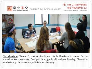 Learn Mandarin in Shanghai