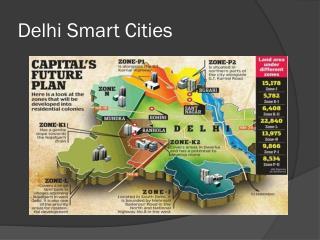 Delhi smart cities
