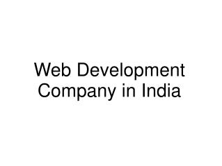 Web Development Company in India - DNeers.com