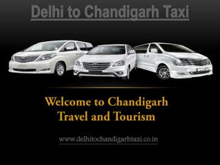 Delhi to Chandigarh Taxi | One Way Taxi Delhi-Chandigarh | 2400