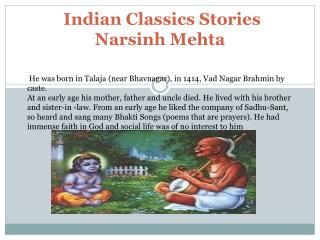 Indian Classics Stories