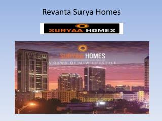 Revanta Surya Homes